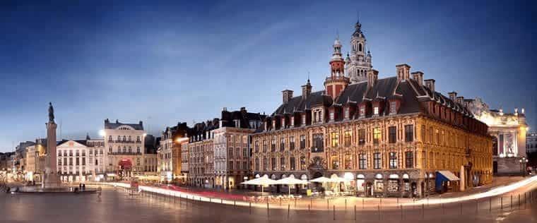 Met de TGV naar Lille