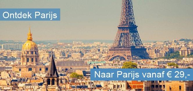 Stedentrip naar Parijs