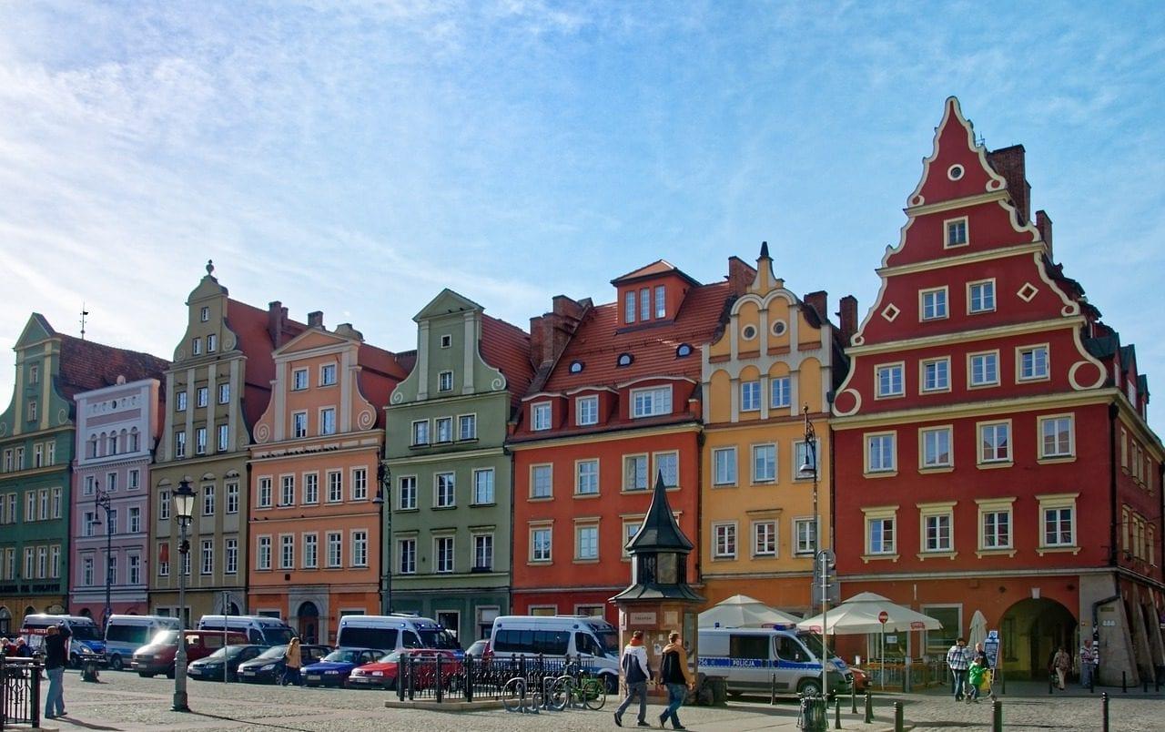 Trein naar Wroclaw