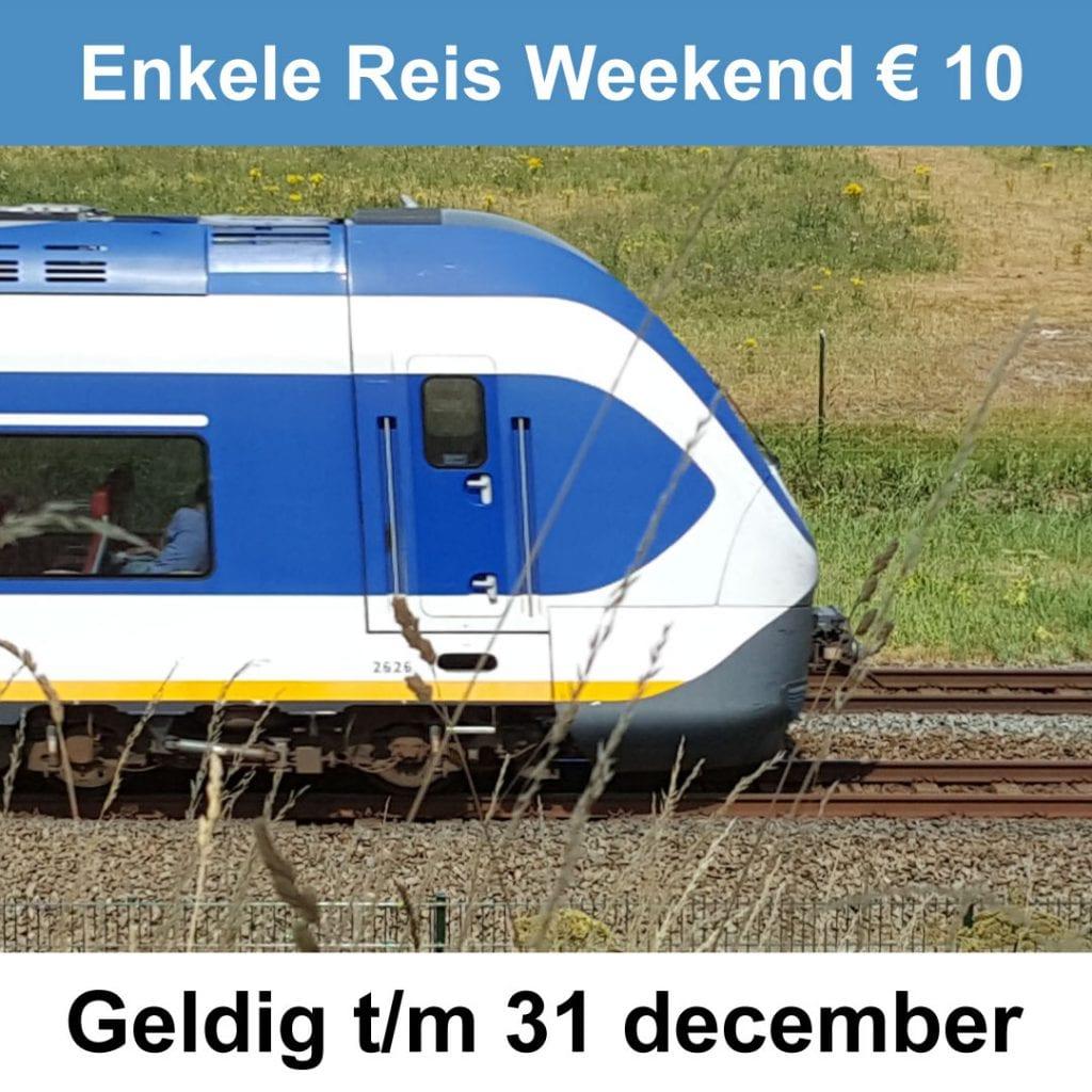 Treinkaartjes Enkele Reis Weekend