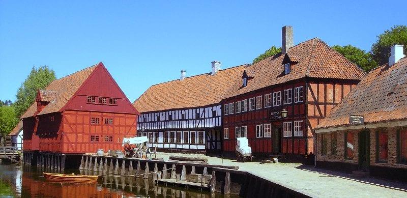 Trein naar Aarhus