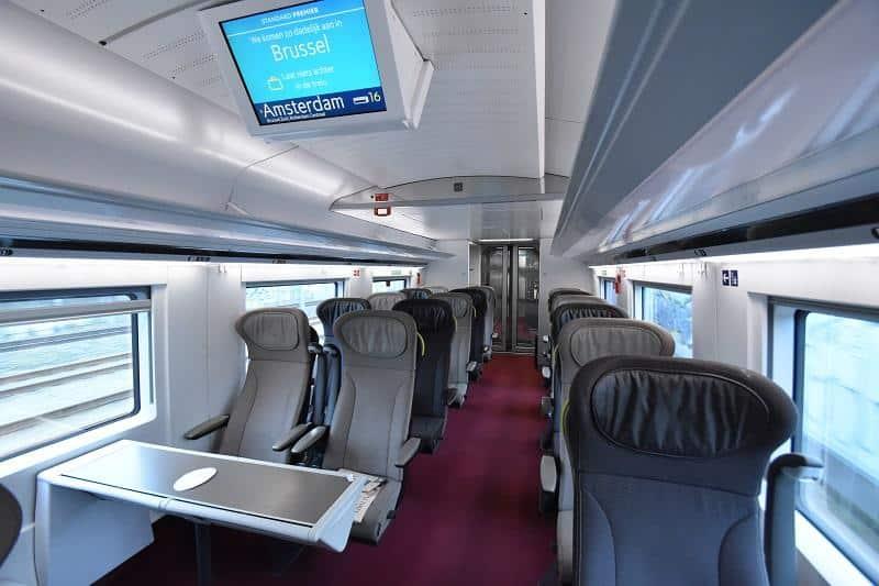 Eurostar binnenkant