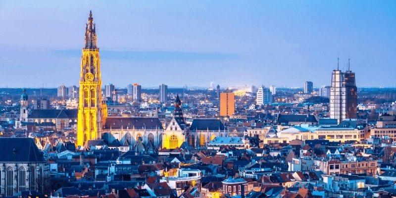 Treinkaartje Antwerpen