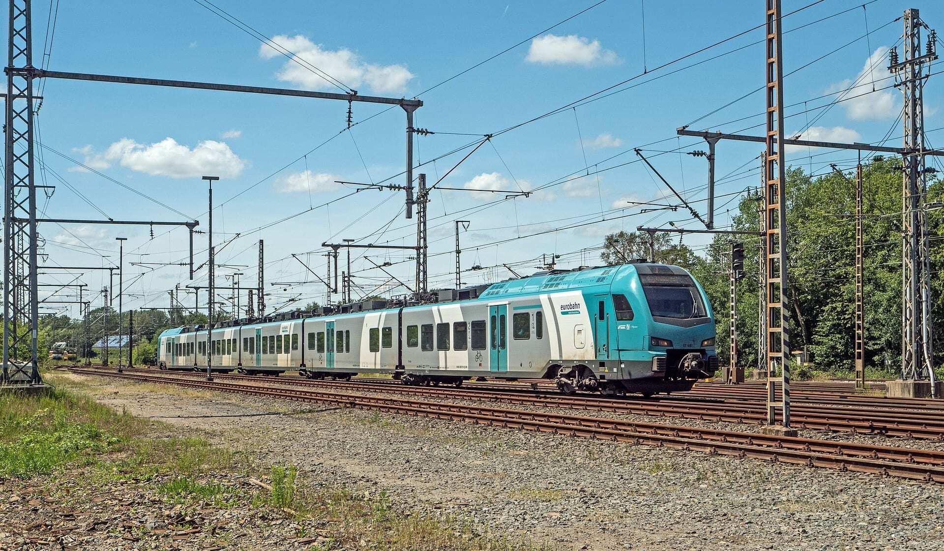 Trein naar Bielefeld