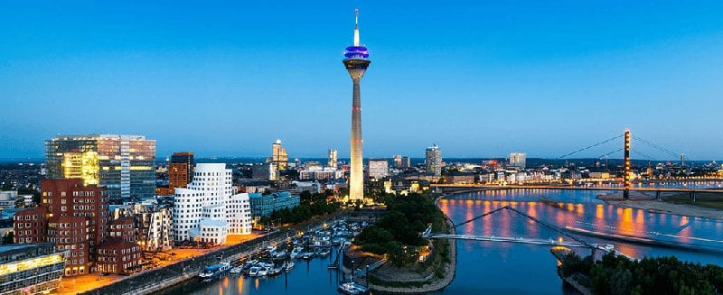 Treinreizen naar Düsseldorf