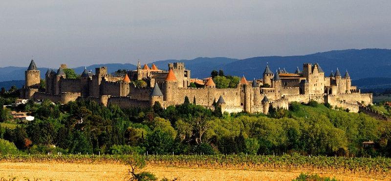 Trein naar Carcassonne