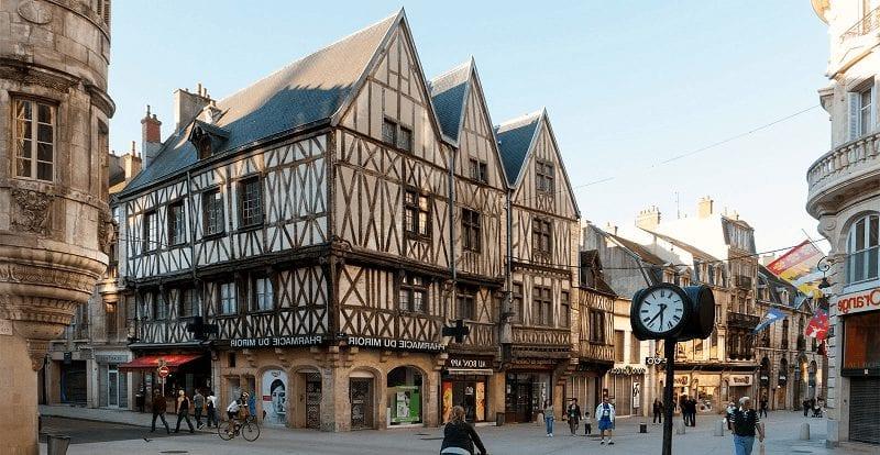 Trein naar Dijon