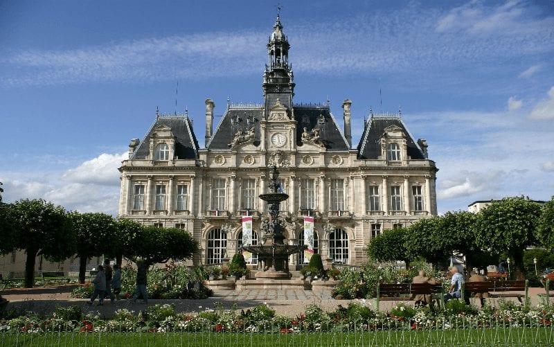 Trein naar Limoges