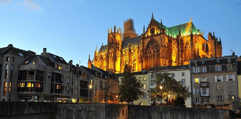 Trein naar Metz