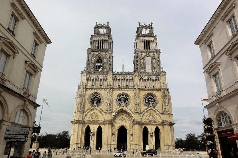 Trein naar Les Aubrais Orleans
