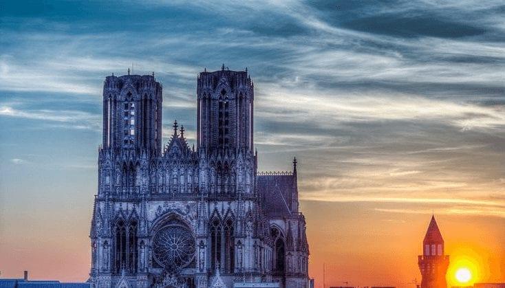 Trein naar Reims