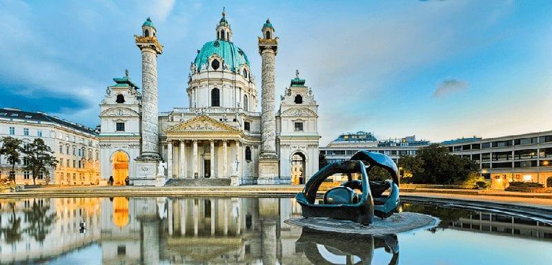 Treinreis naar Wenen
