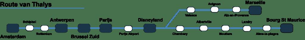 Thalys Route