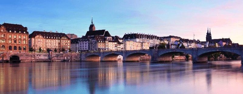 ICE International naar Basel